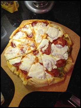 Homemade Pizza | Tidbits for Today
